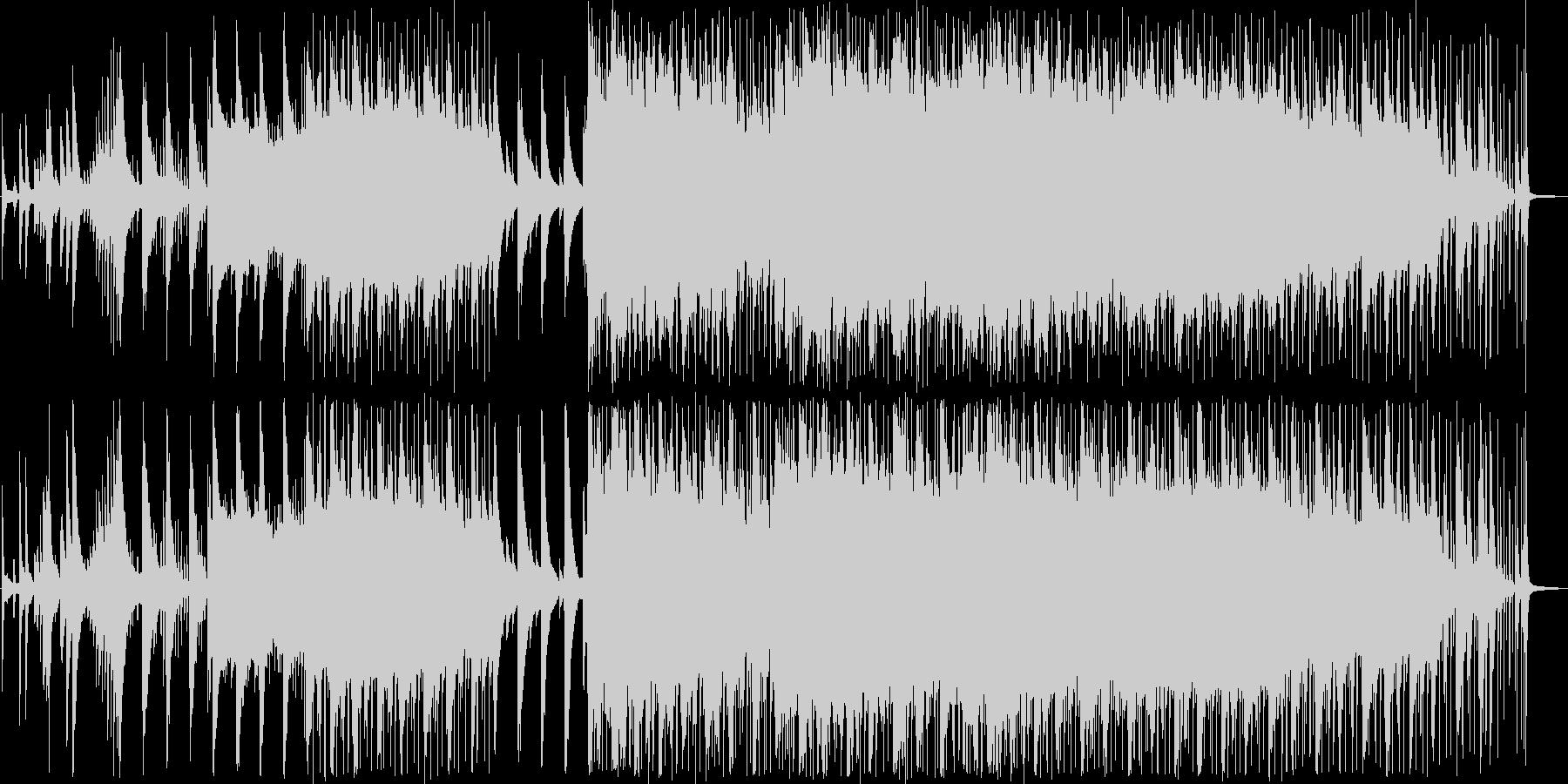 ピアノをメインに、オルガン、ストリング…の未再生の波形