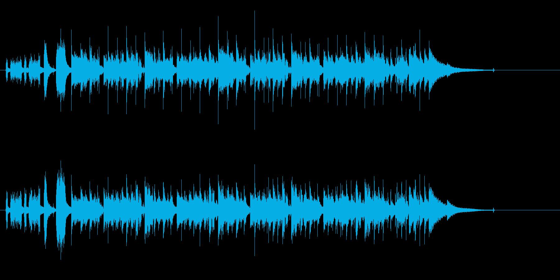 タイトに弾むフュージョン・サウンドの再生済みの波形