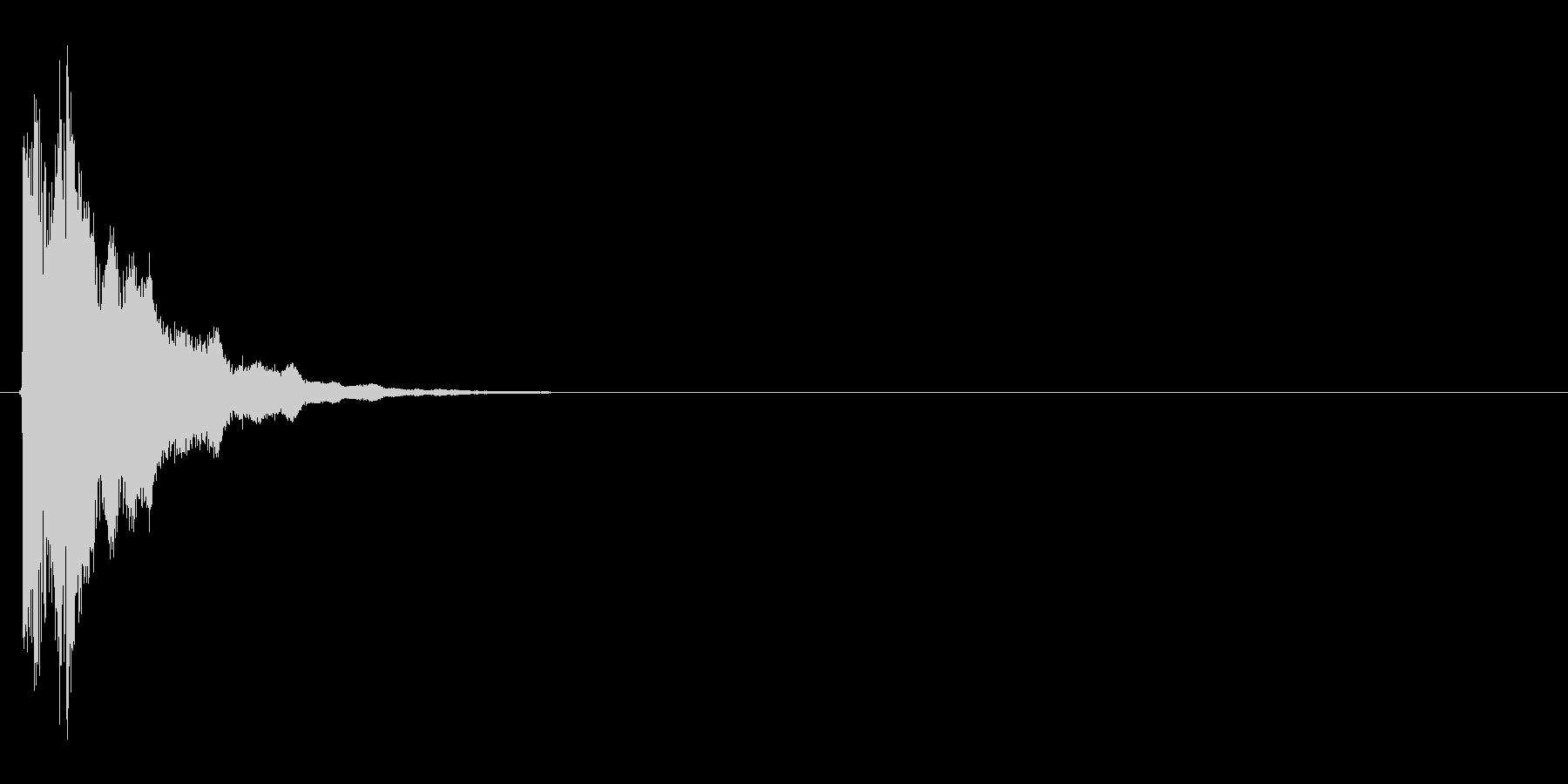 キュピン!(決定音、ゲージ満タン)の未再生の波形