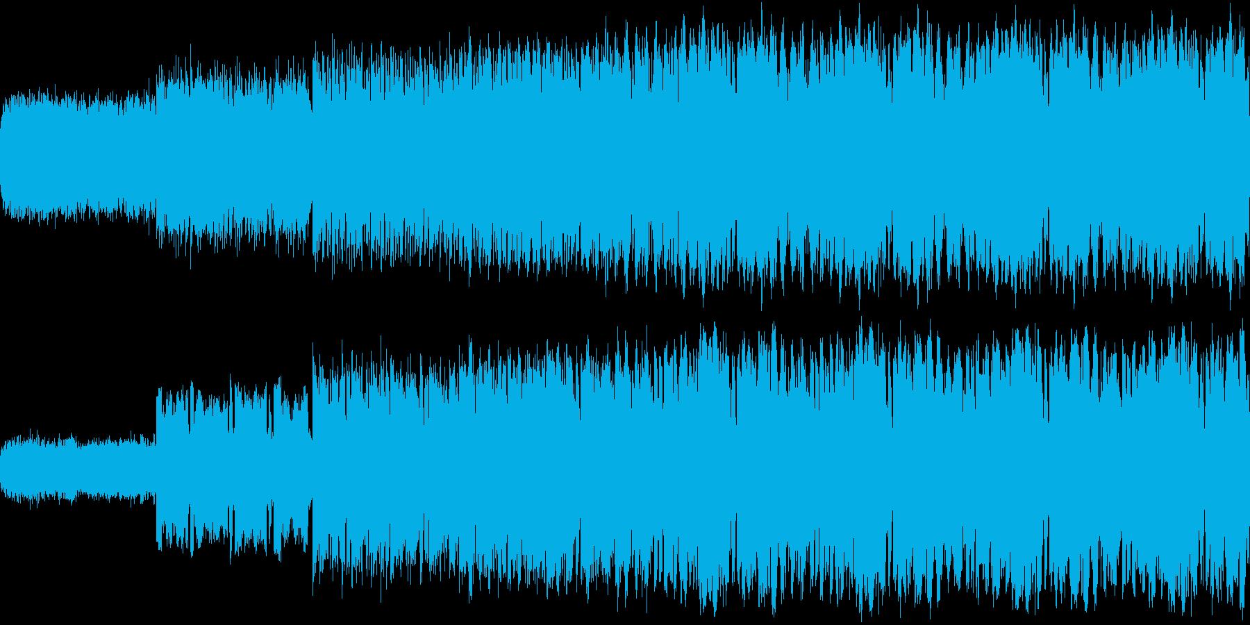 サッカー関係や入場などに使える曲の再生済みの波形