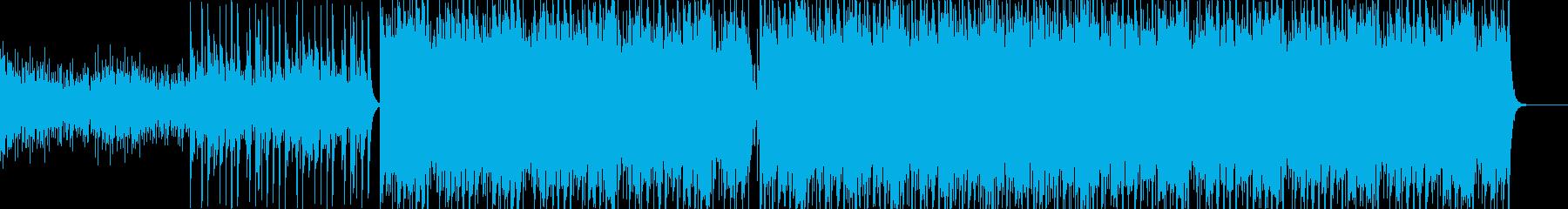 近未来感ヒップホップの再生済みの波形