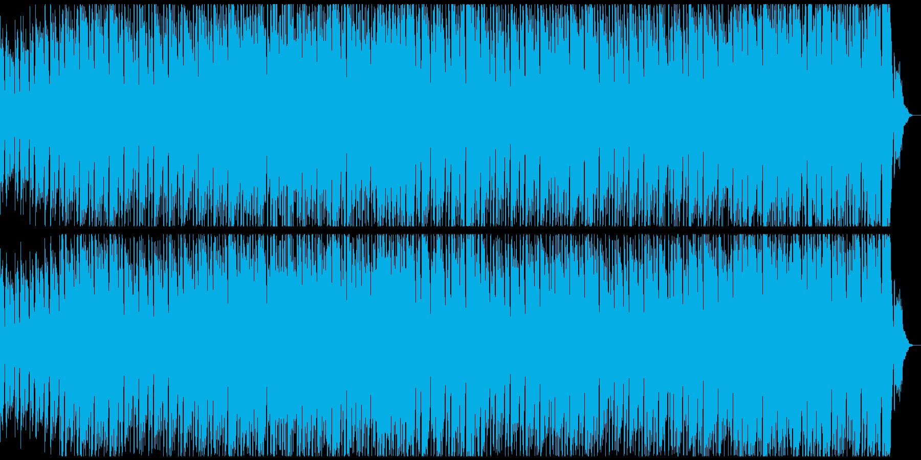 切ないコード進行にシンセとギターが乗るの再生済みの波形