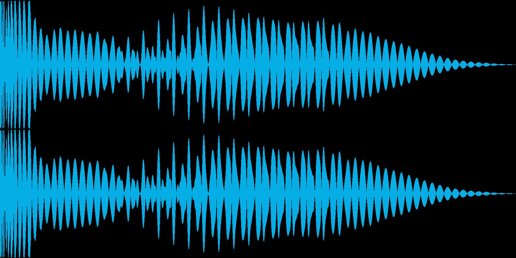 EDMキック キーGの再生済みの波形
