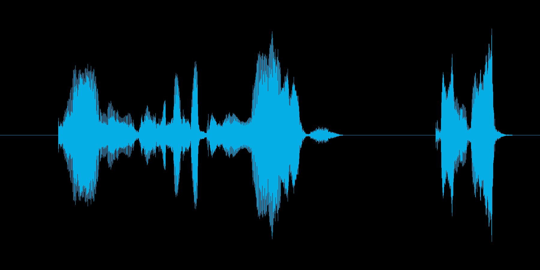 今日のおススメ作品はこれの再生済みの波形