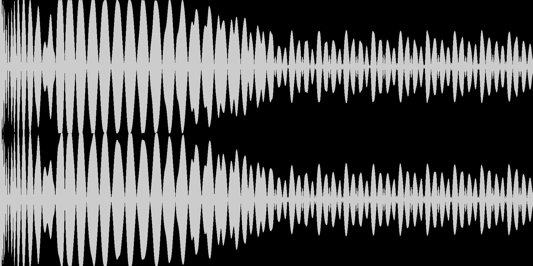 EDMキー(E)入りキック の未再生の波形