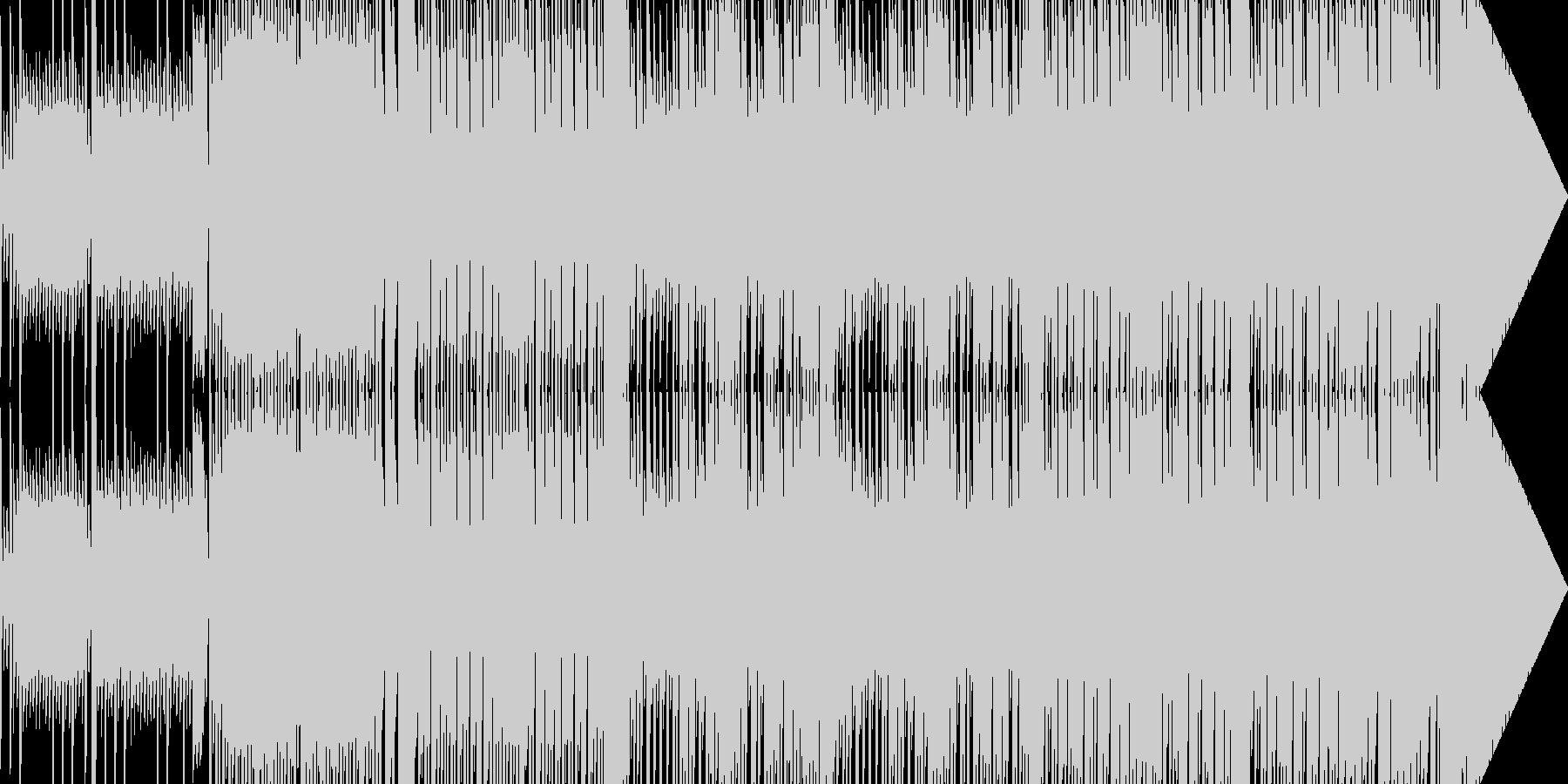 番組EDなどに 寂しいチップチューン02の未再生の波形