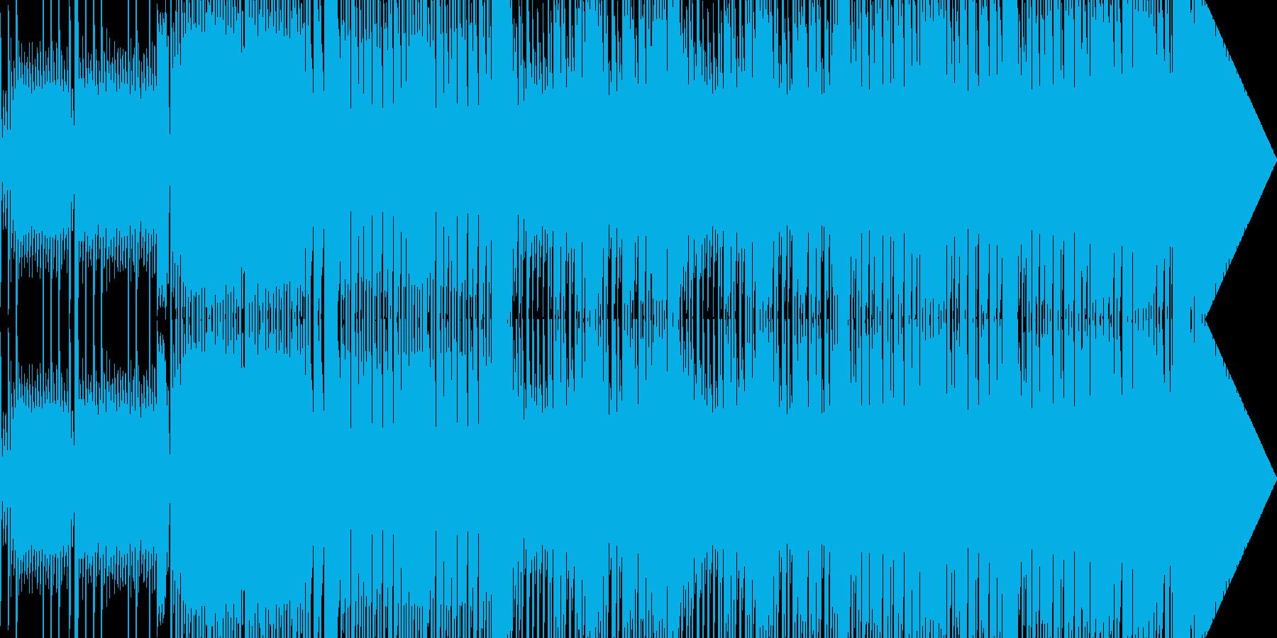 番組EDなどに 寂しいチップチューン02の再生済みの波形