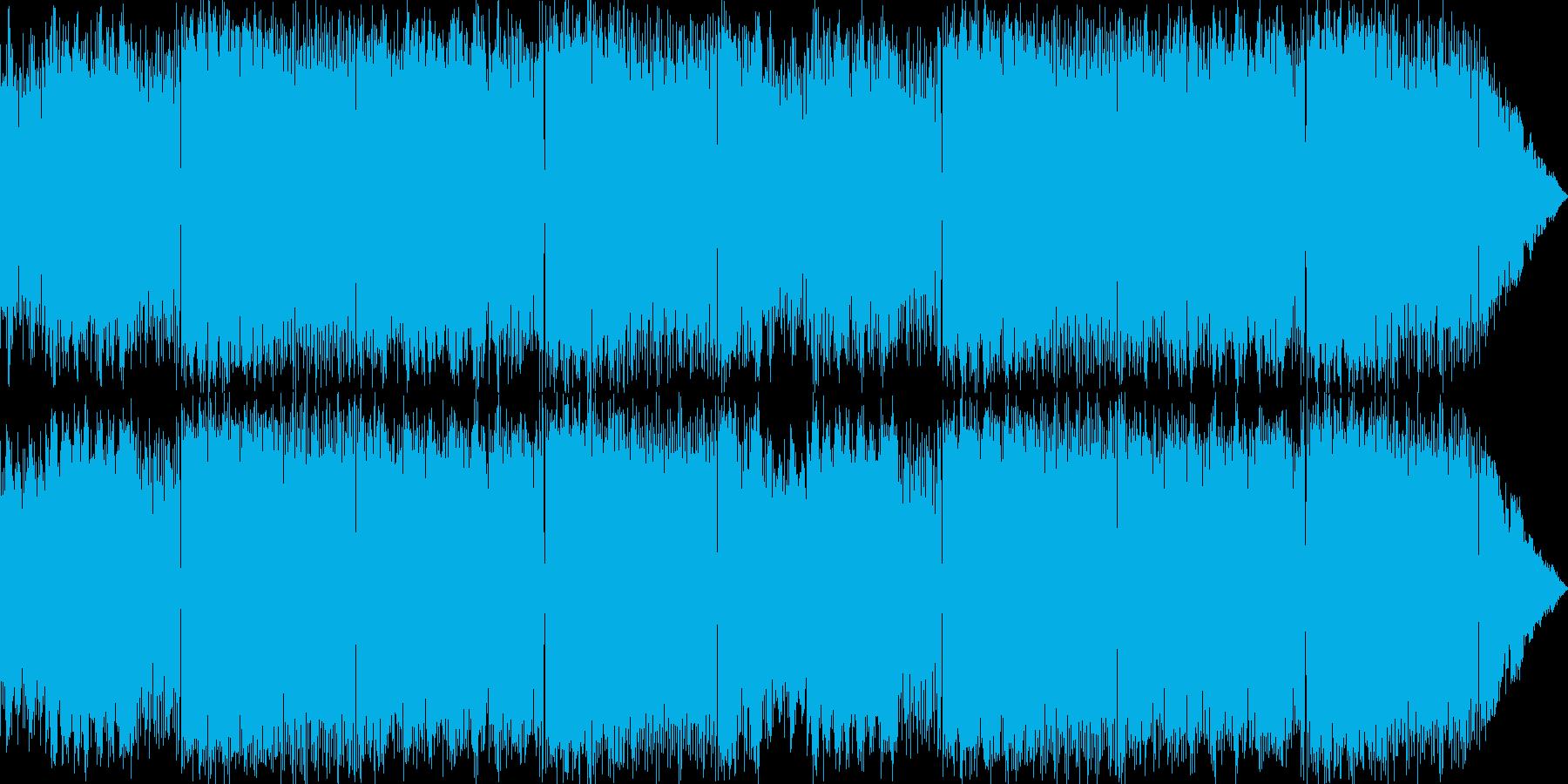 ファンタジーRPGの怪しいBGMの再生済みの波形