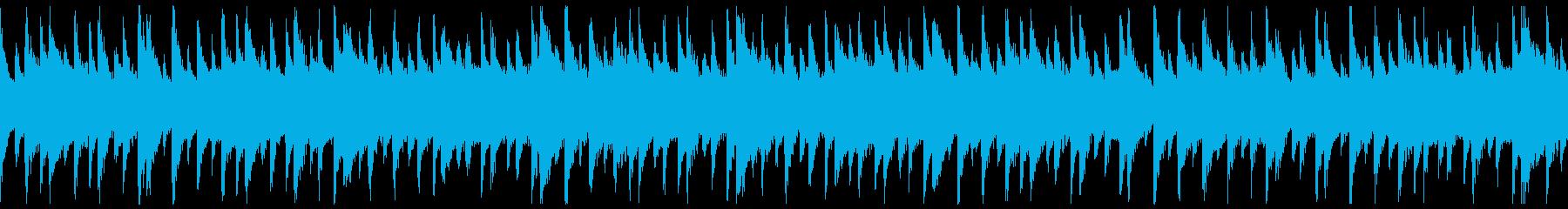 西アフリカ リュート型弦楽器 スローの再生済みの波形