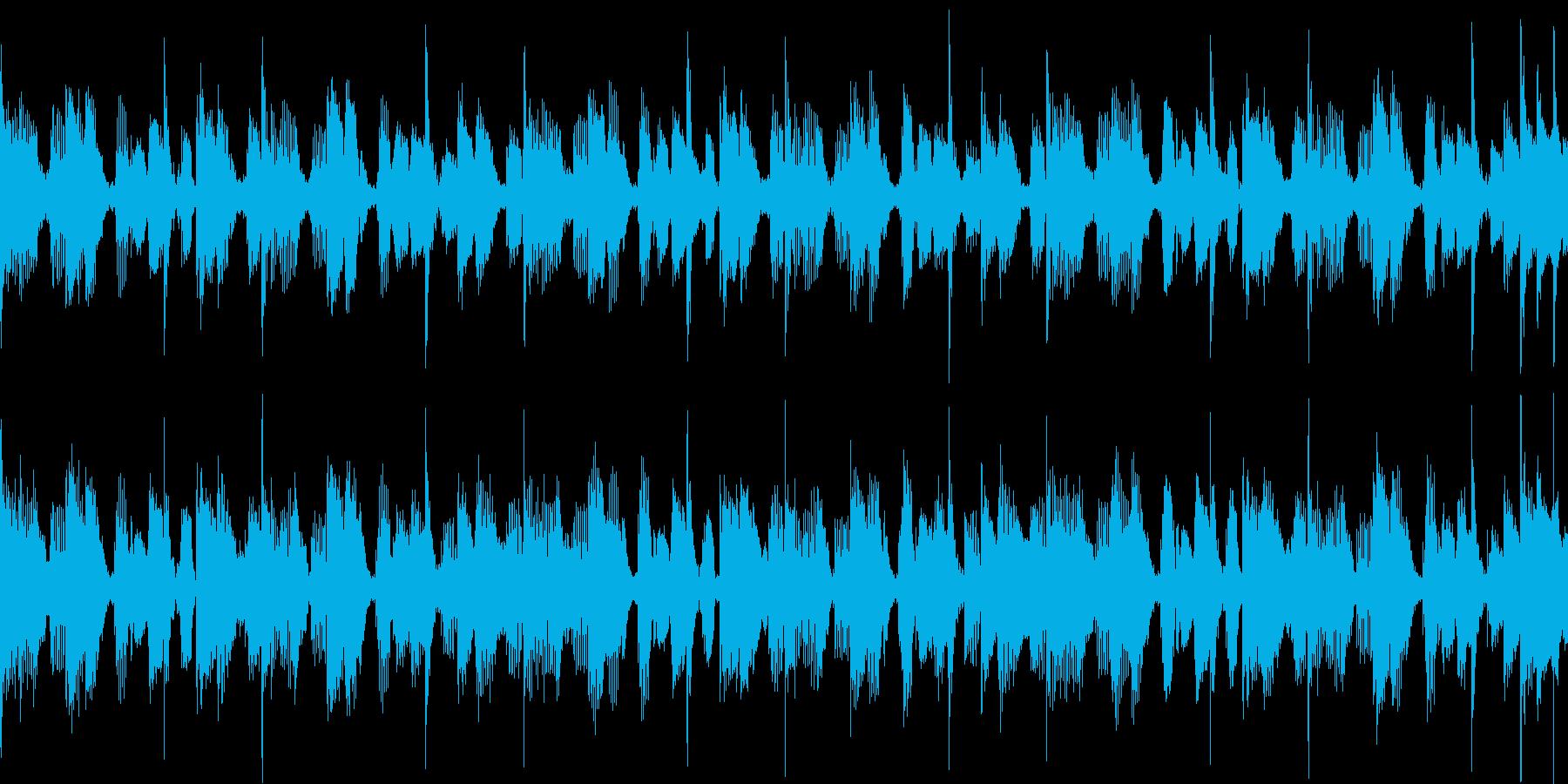 何か始めそうポップなストリングス/ループの再生済みの波形