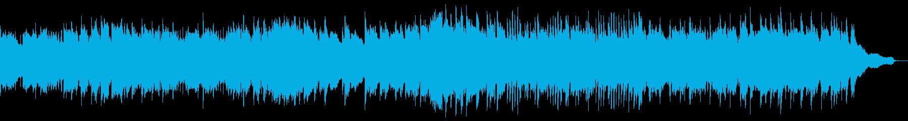 ピアノとクラリネットによる春のイメージの再生済みの波形