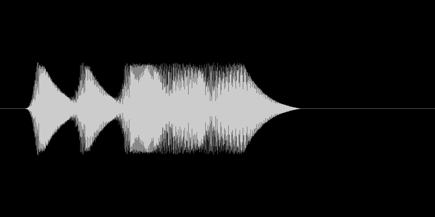 ファミコン風効果音 キャンセル系 06の未再生の波形
