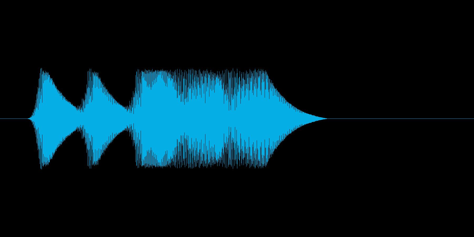 ファミコン風効果音 キャンセル系 06の再生済みの波形