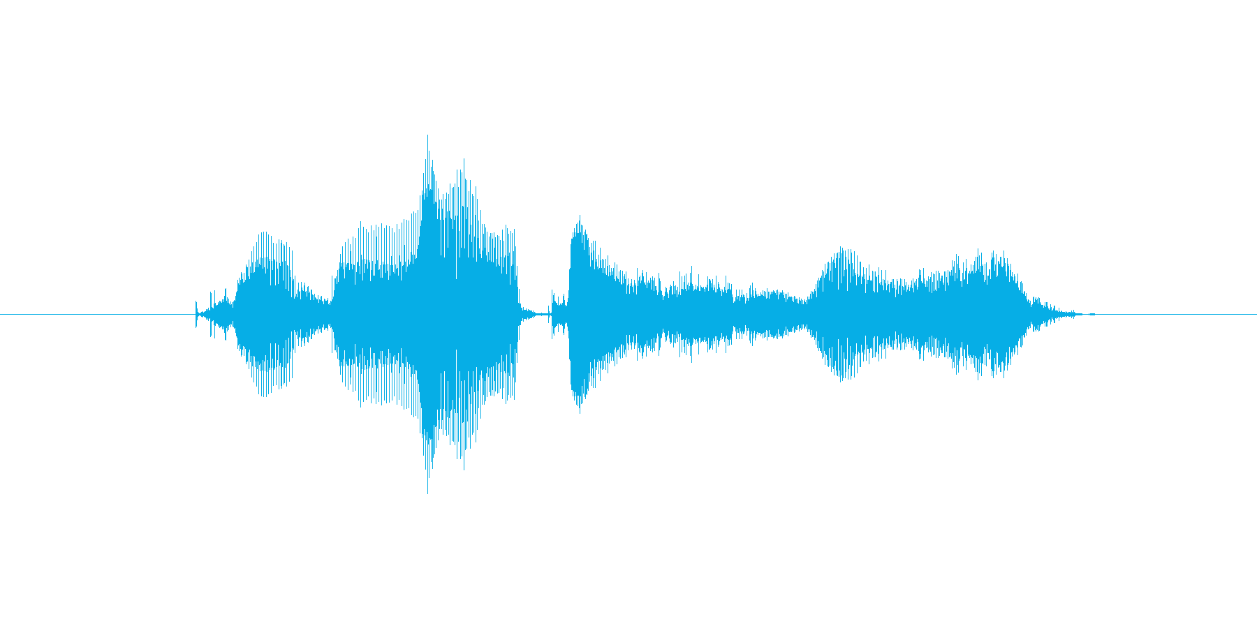 【おっとり】クリアですよ♪の再生済みの波形