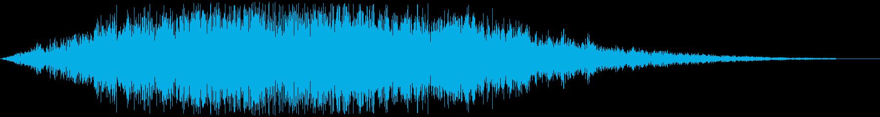 サウンドロゴ(癒やし系) ファーンの再生済みの波形
