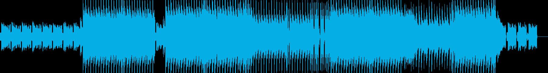 かわいらしいエレピとベルのポップスの再生済みの波形