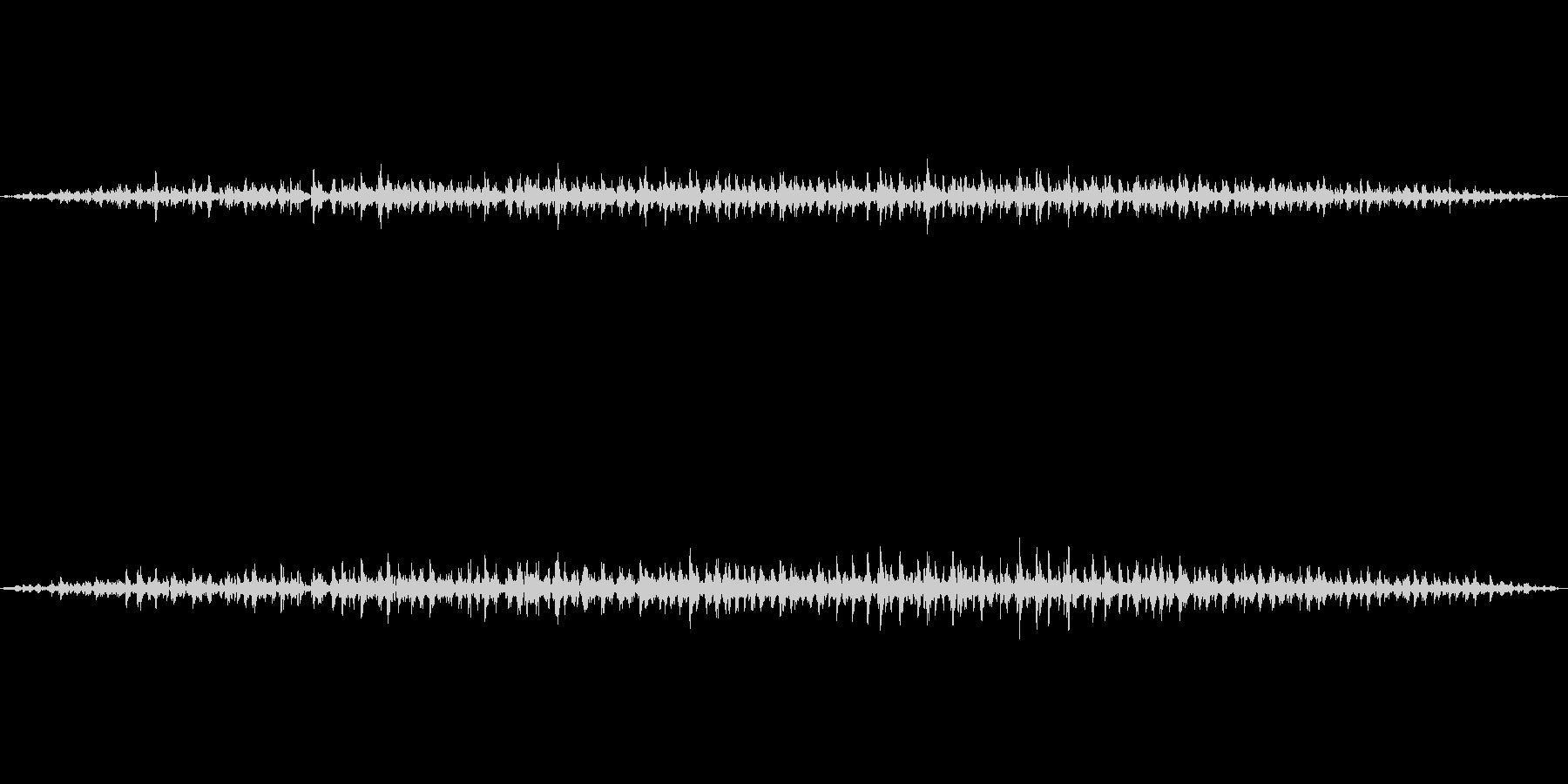 実験室 薬品製作 ブクブク ボコボコの未再生の波形
