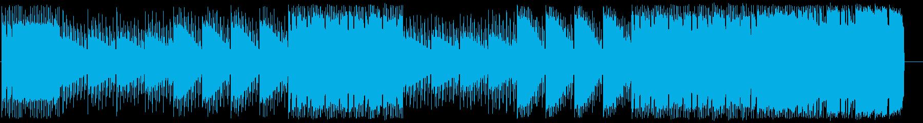 ファミコン風サウンド ポップな宇宙空間の再生済みの波形
