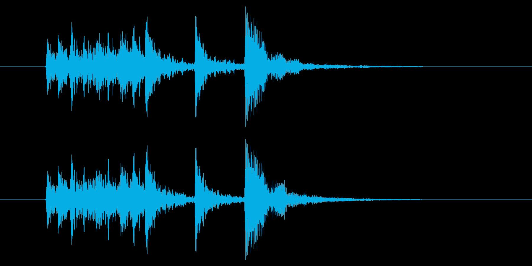爽やかな木琴サウンド(ジングル、転換)の再生済みの波形