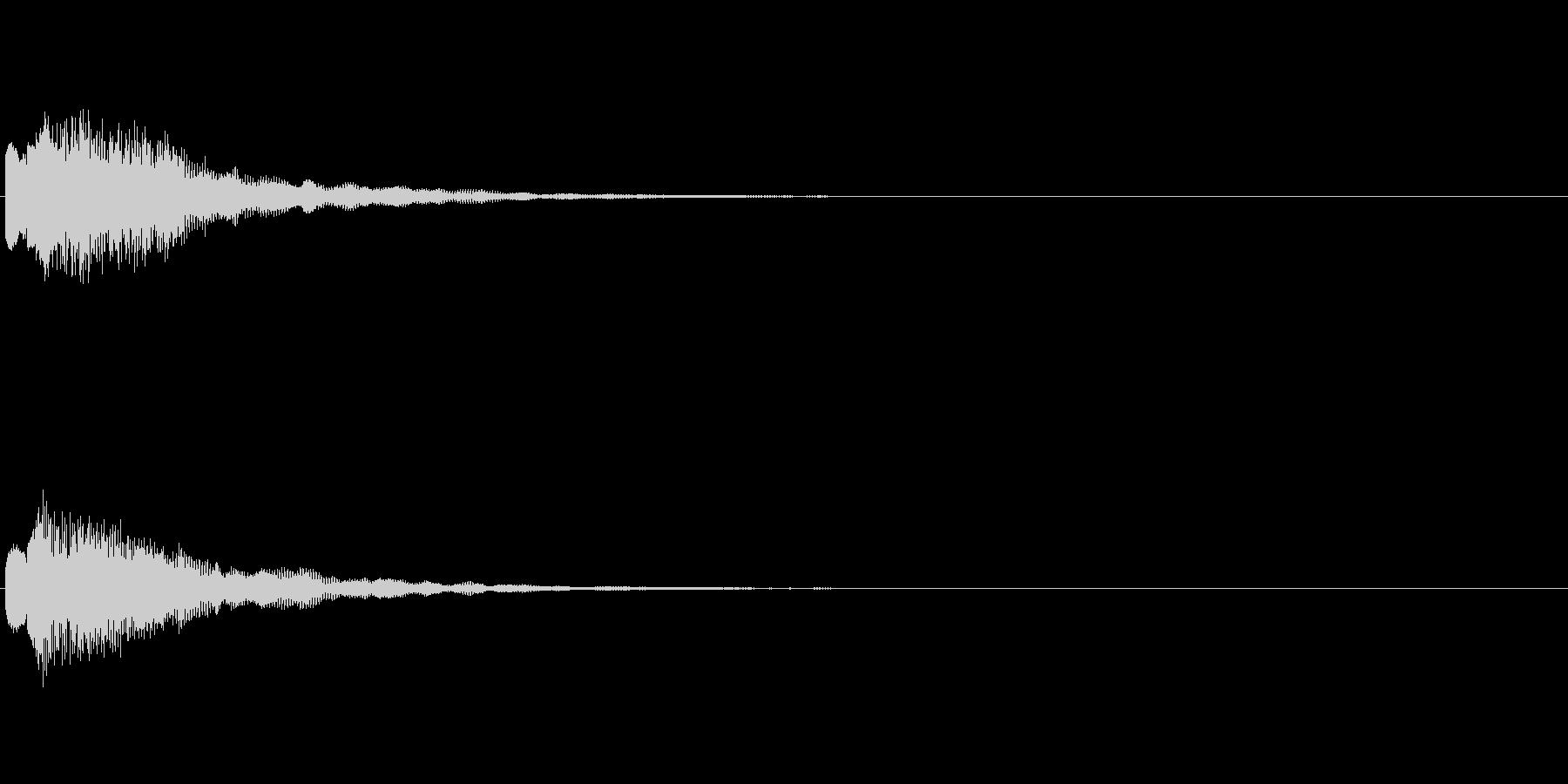 スイッチ ニュース ゲーム 電子音 の未再生の波形