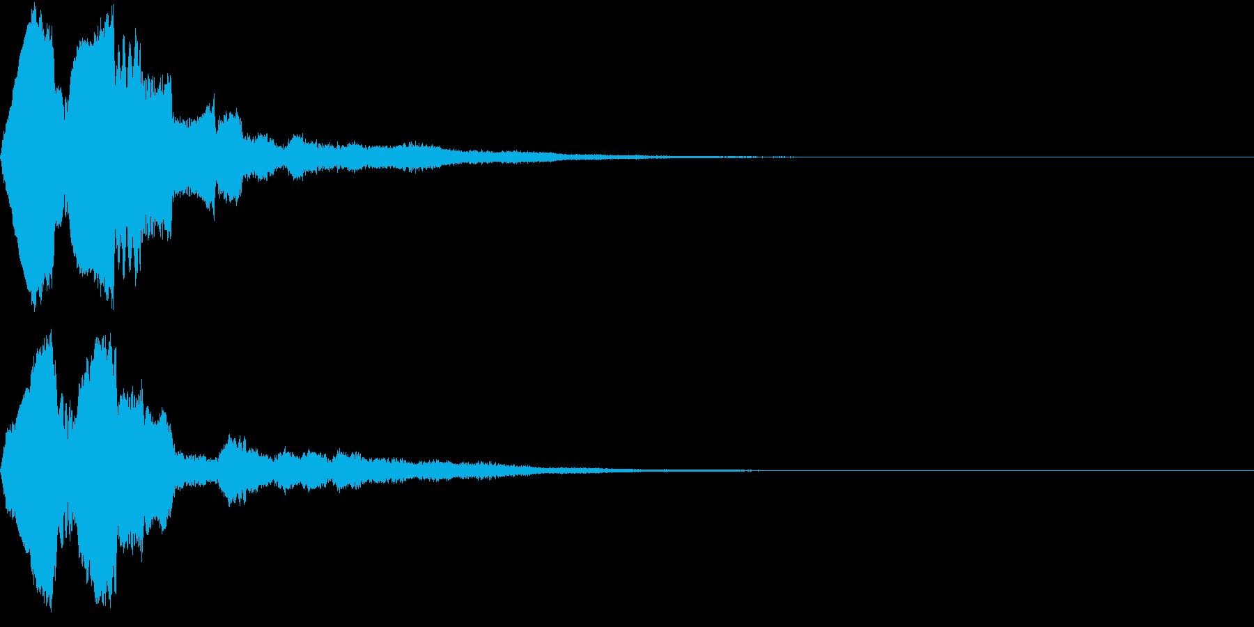 笛 合図 知らせ 呪文 まじない 8の再生済みの波形