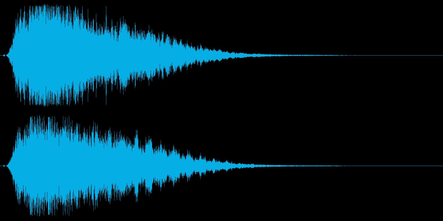 シャキーン♪星,回復,特殊魔法に最適06の再生済みの波形