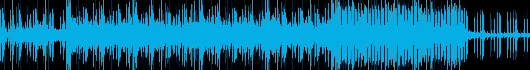 クールでノリの良いワクワクするトランス調の再生済みの波形