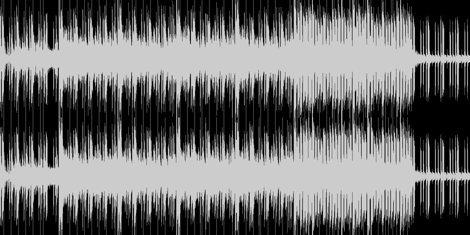 クールでノリの良いワクワクするトランス調の未再生の波形