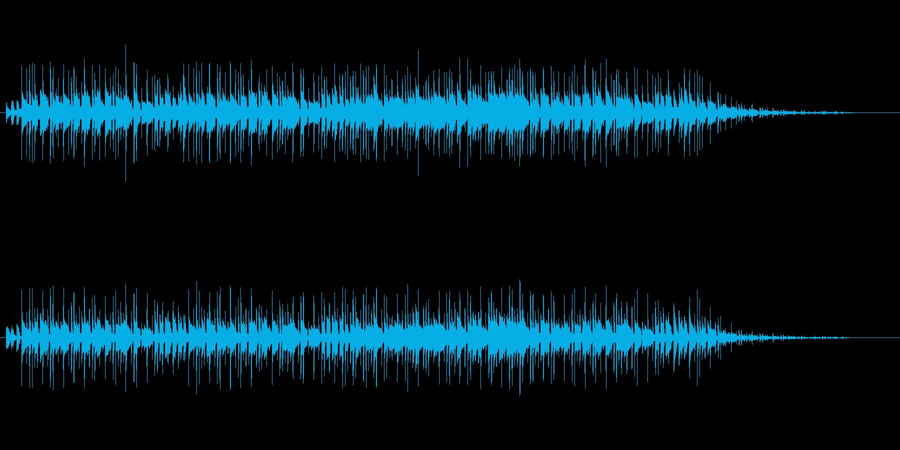 テレビショッピング風イージーリスニングの再生済みの波形
