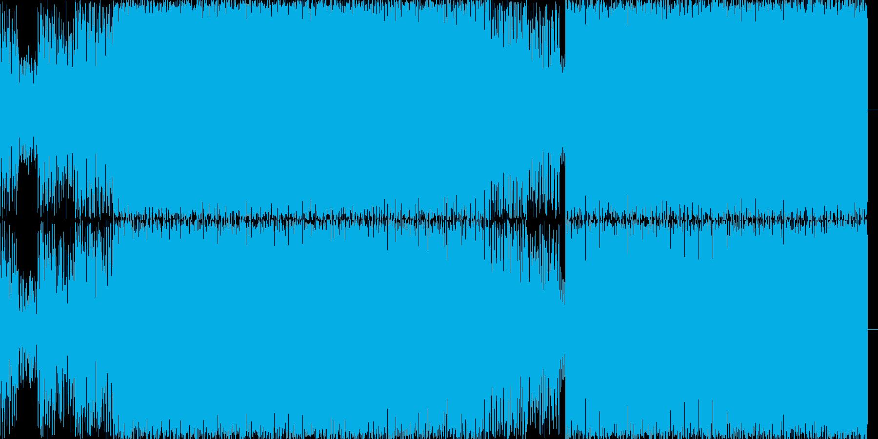 歌モノですの再生済みの波形