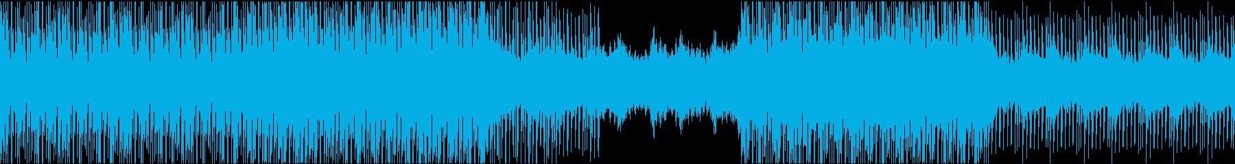 [ループ]ダンスミュージック4の再生済みの波形