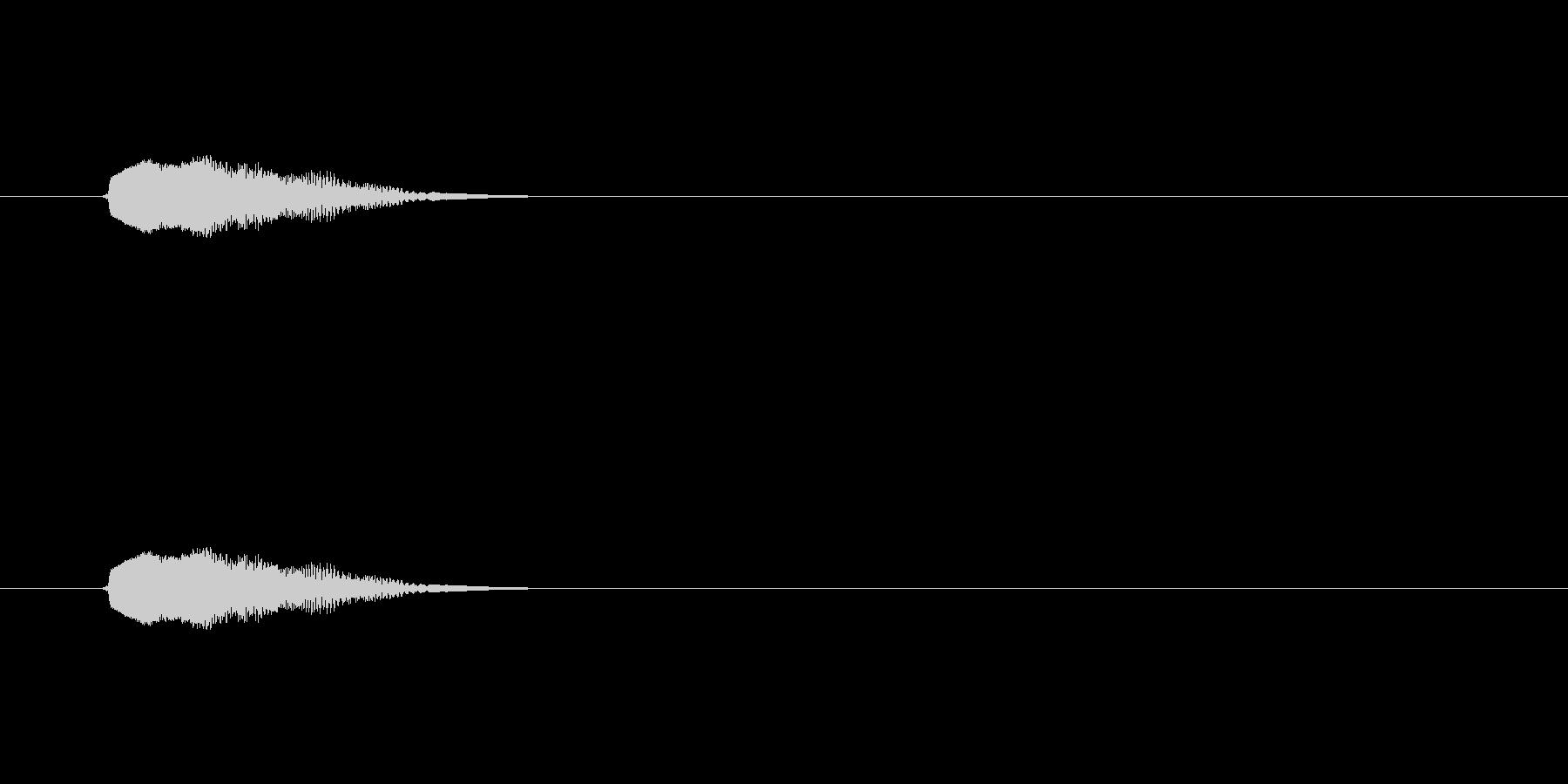 【ポップモーション18-1】の未再生の波形