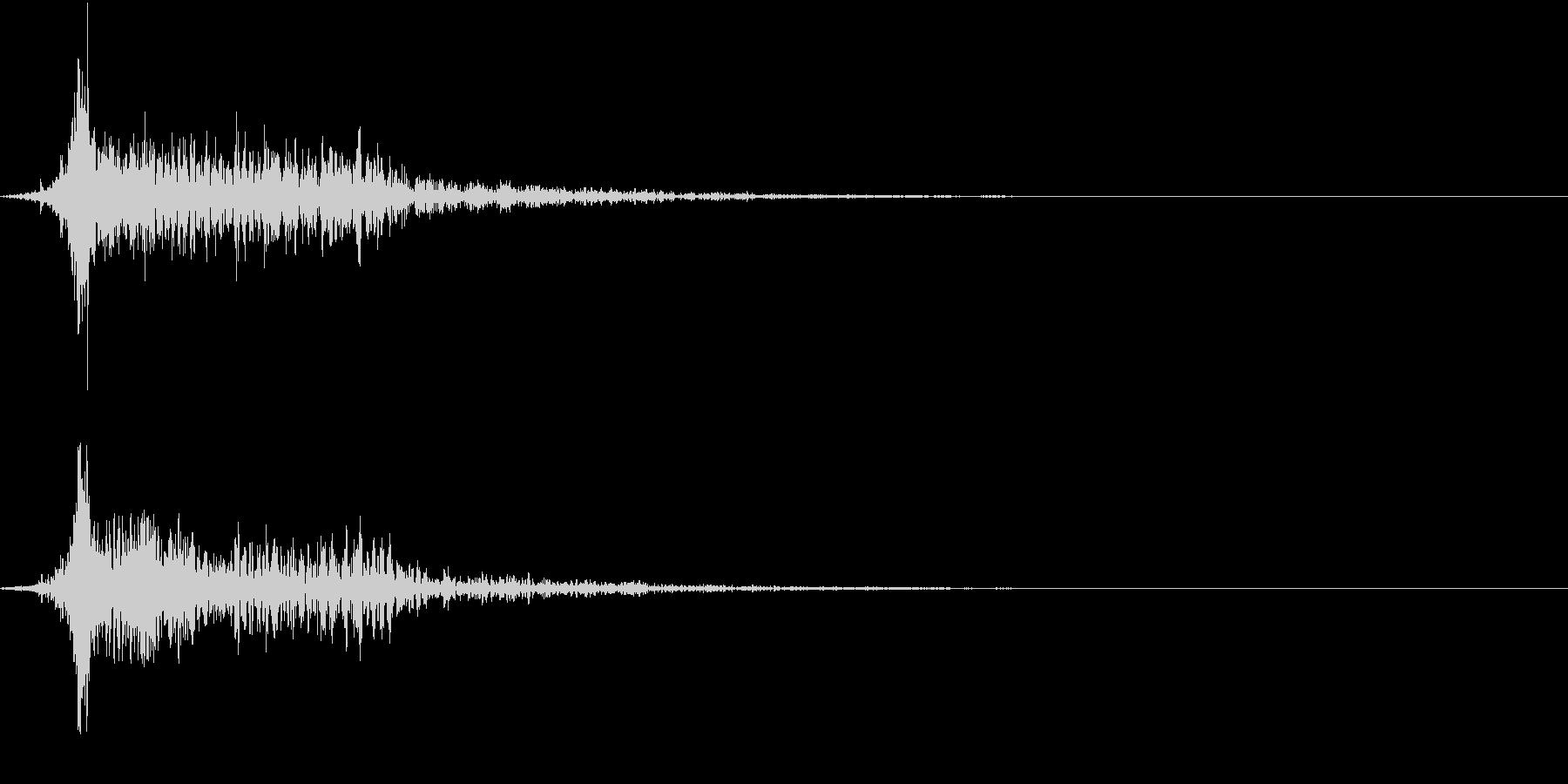 ホラー 衝撃 ドーン 驚き びっくり 2の未再生の波形