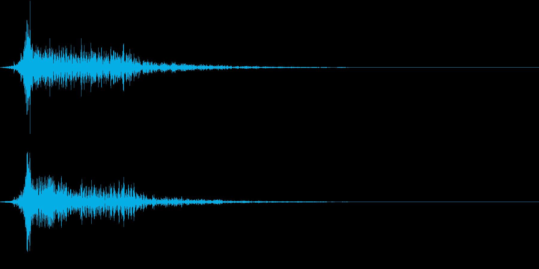 ホラー 衝撃 ドーン 驚き びっくり 2の再生済みの波形