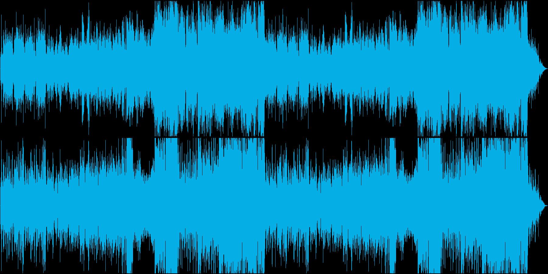 草原をイメージしたRPG風BGMの再生済みの波形