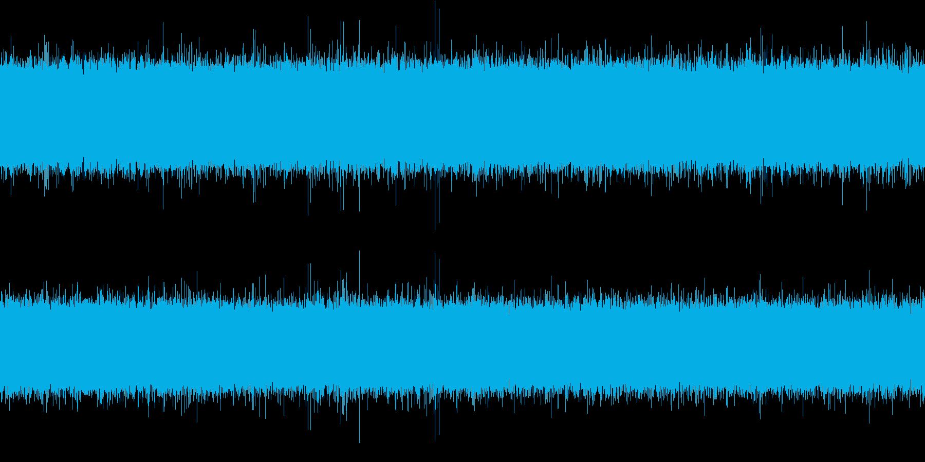 大きな滝(環境音_ドドドド)の再生済みの波形