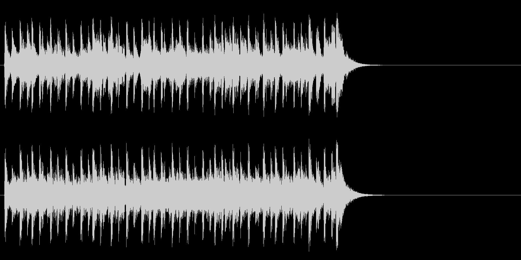 生き生きモータウンポップ(イントロ)の未再生の波形