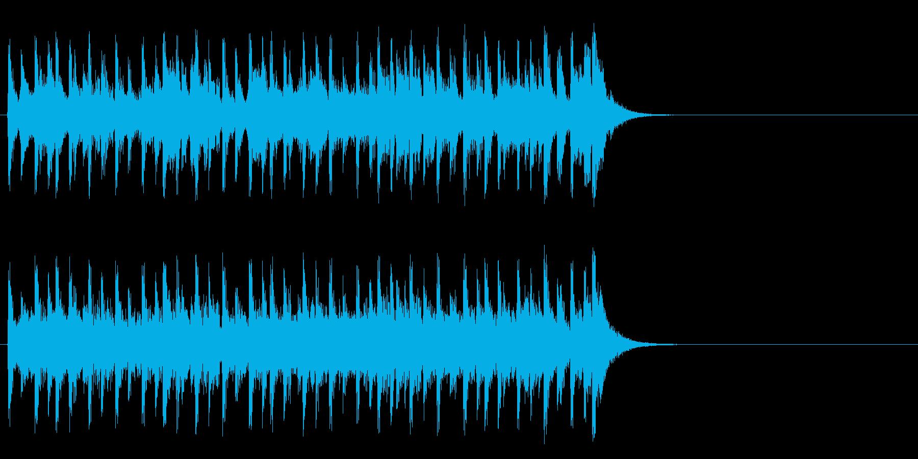 生き生きモータウンポップ(イントロ)の再生済みの波形