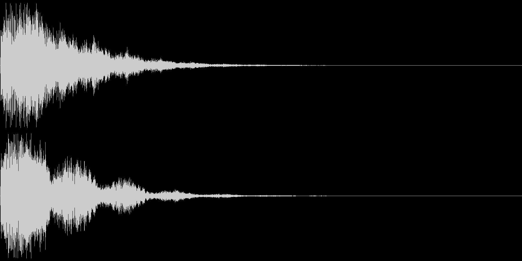 シンセ音(パワーアップ、決定音など)の未再生の波形