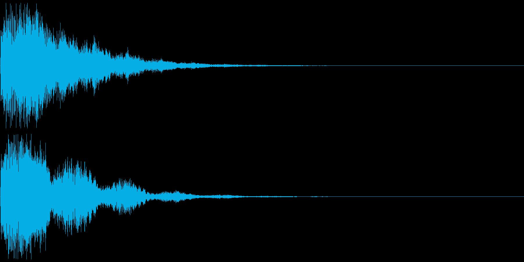 シンセ音(パワーアップ、決定音など)の再生済みの波形