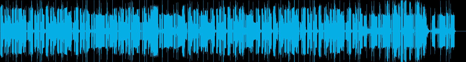 ドジっ子がドジした時のBGMの再生済みの波形