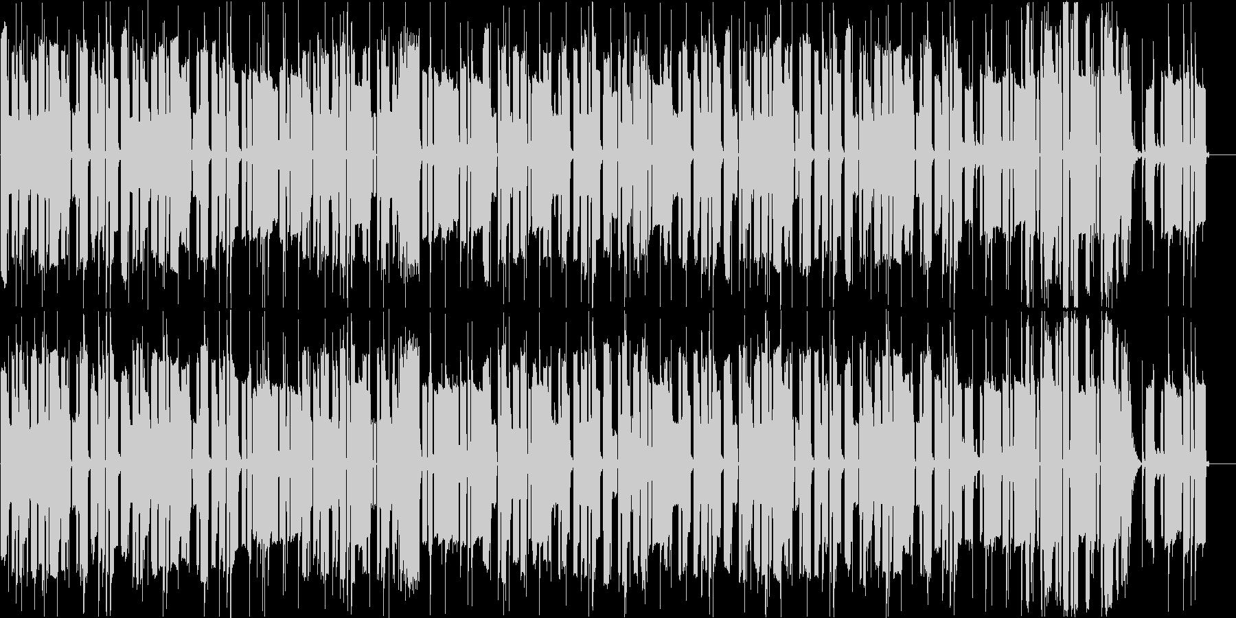 ドジっ子がドジした時のBGMの未再生の波形