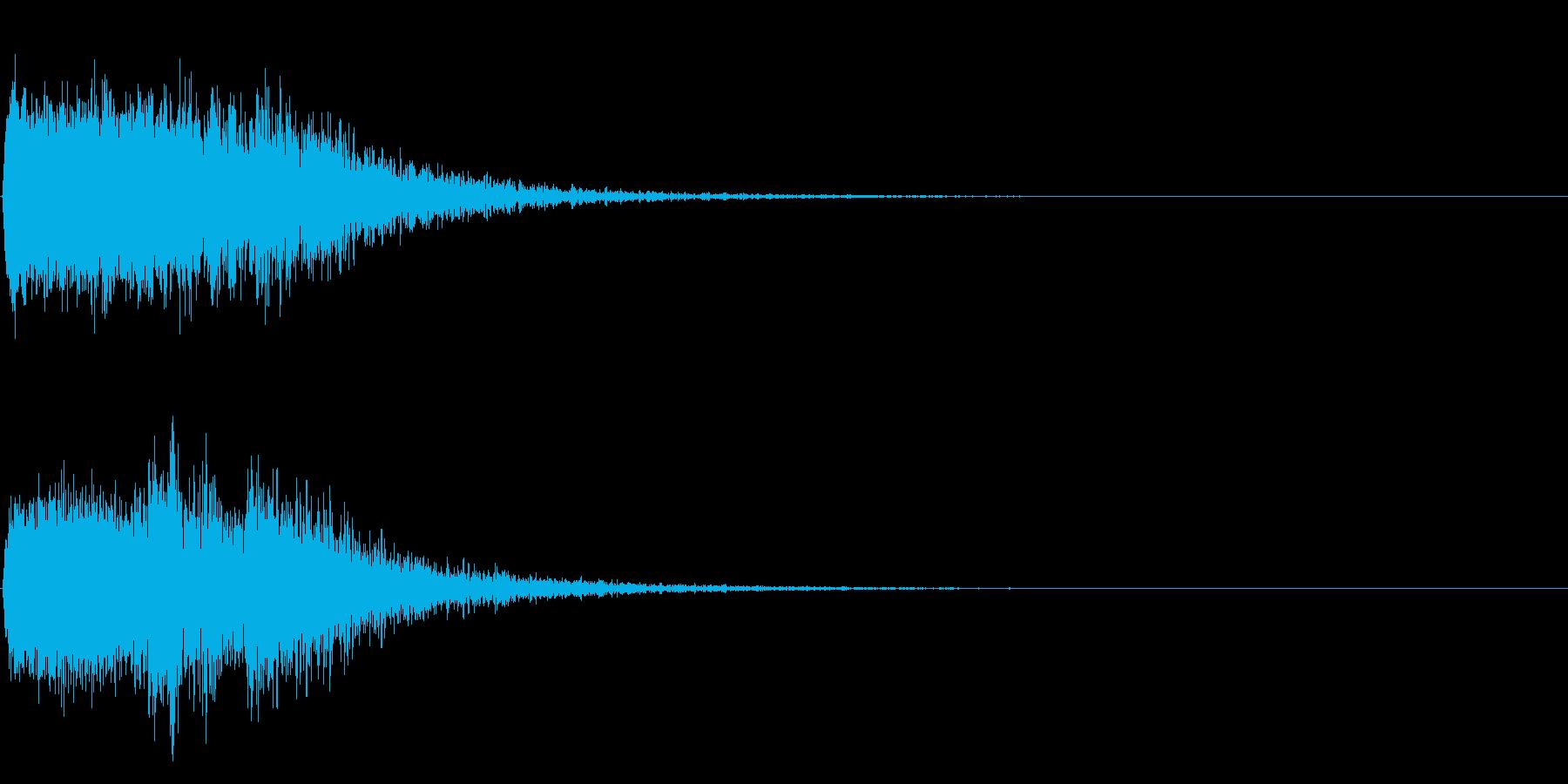 シャキーン♪回復,特殊魔法,クリア!03の再生済みの波形