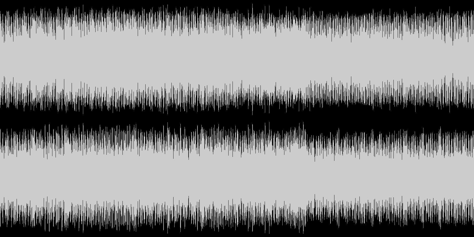 ステージ画面・戦闘ループ・シンセオケの未再生の波形