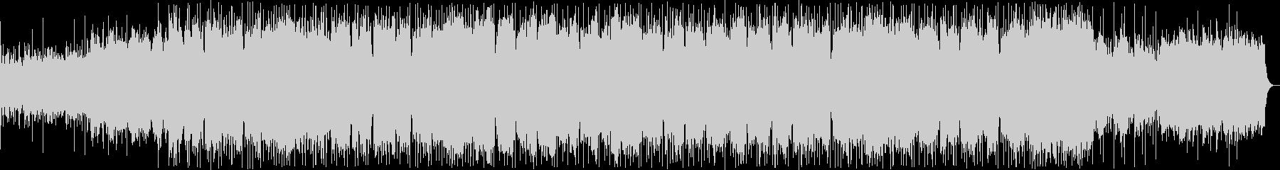 和風のシンセサイザーサウンドの未再生の波形