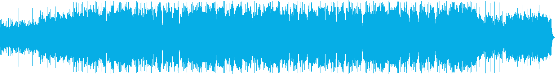 和風のシンセサイザーサウンドの再生済みの波形