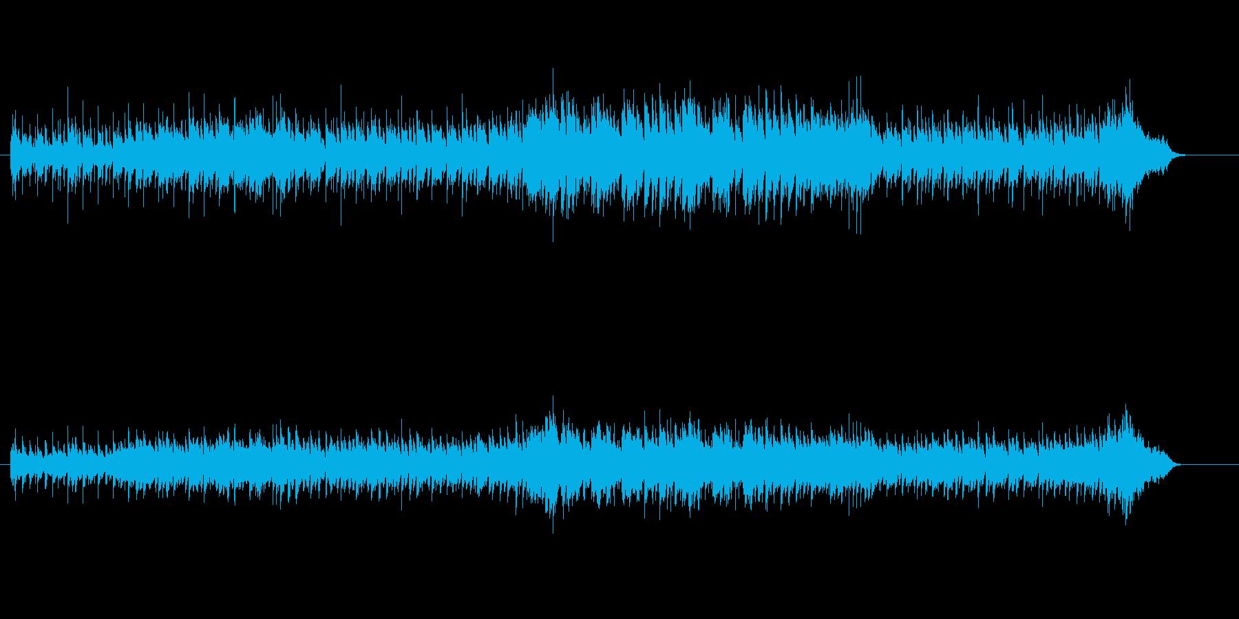 アップ・テンポでメロディアスなポップスの再生済みの波形
