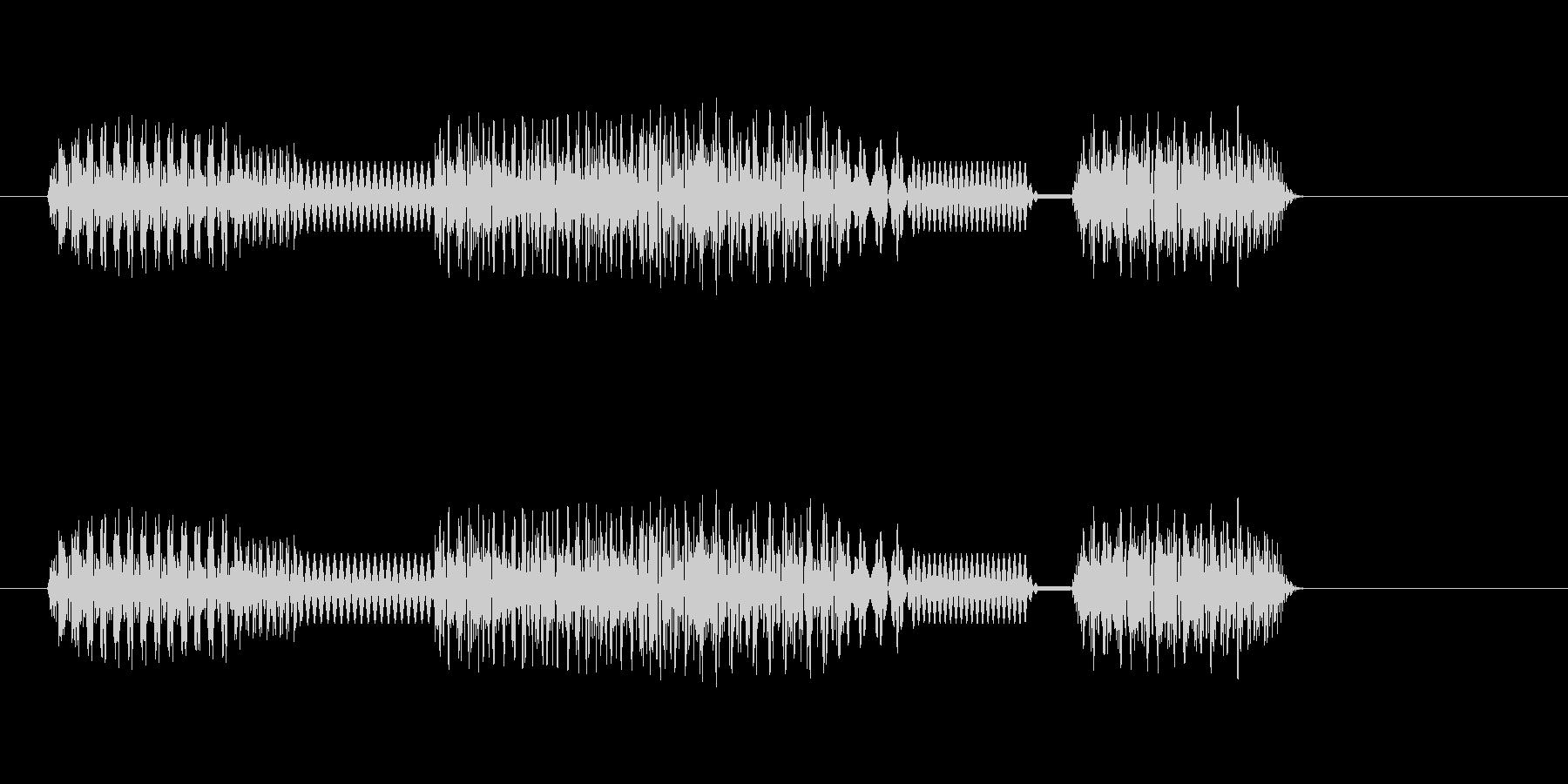 [テッテレッテ]失敗(8bit系)の未再生の波形