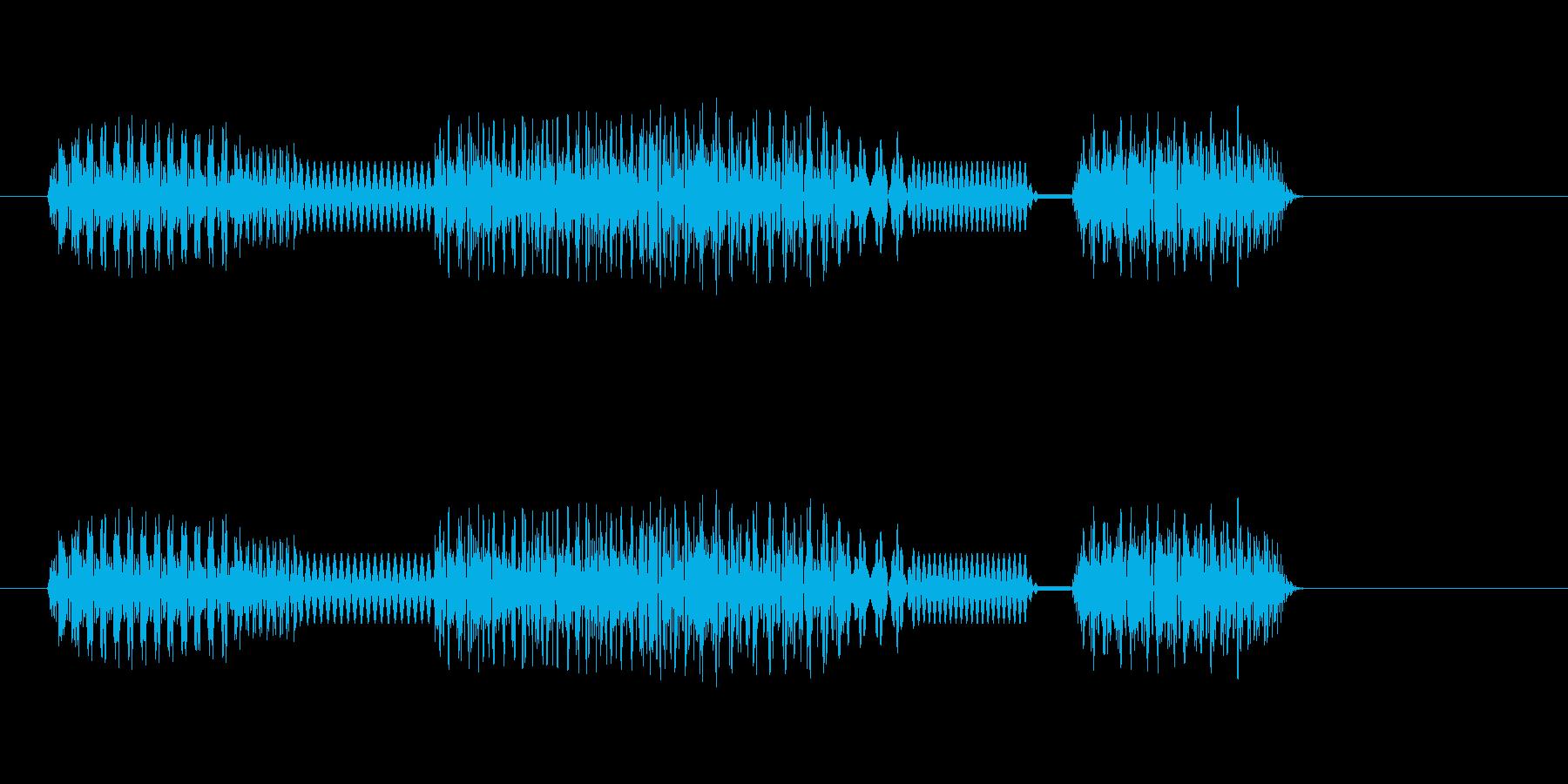 [テッテレッテ]失敗(8bit系)の再生済みの波形
