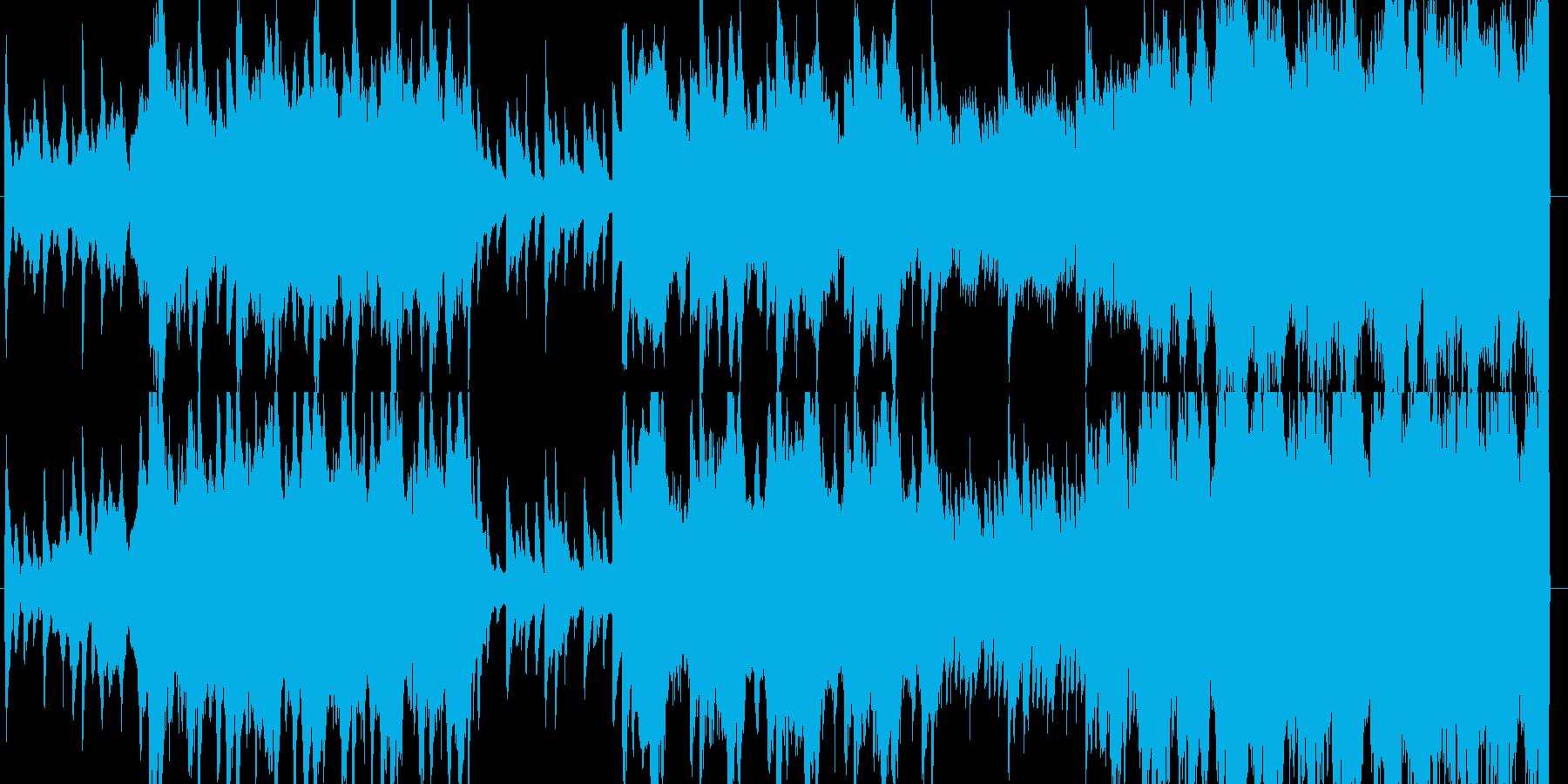 ピアノとコーラスが神秘的で幻想的な曲の再生済みの波形